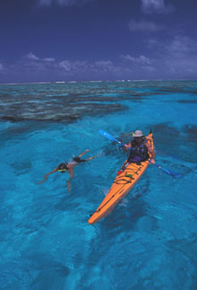 Snorkelling and Sea Kayaking in Fiji
