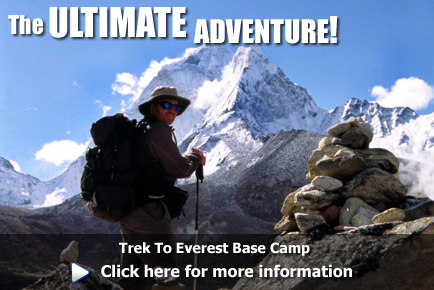 Trekking to Everest Base Camp, click here for more information